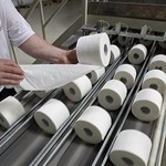Quality control during the production of toilet paper